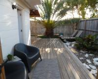 La Perla Gorgeous remodel 1 BR 1 BA Cottage Fenced Yard Backyard Oasis