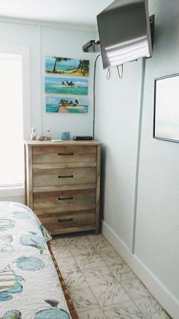 Click to enlarge image Large dresser for your extras - La Tortuga, lovely new remodel, Spanish Village #12 - Charming coastal cottage, private fenced yard, dog ok